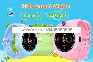 smart intelligence watch SOS location tracker phone call smart kids children watches color touch screen watch   2019