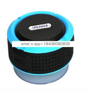 waterproof mp3 player C6 IP65 Waterproof Wireless Blue tooth Speakers Waterproof for Outdoor Indoor and Use in shower for iphone