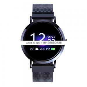 western smart watch 2019 tempered glass multi-interface sport watch long battery life vibration heart rate smartwatch bracelet